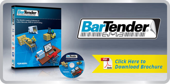 Click to download Bartender brochure