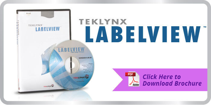 click to download Labelview brochure