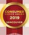 Consumer Choice Award Vancouver 2019